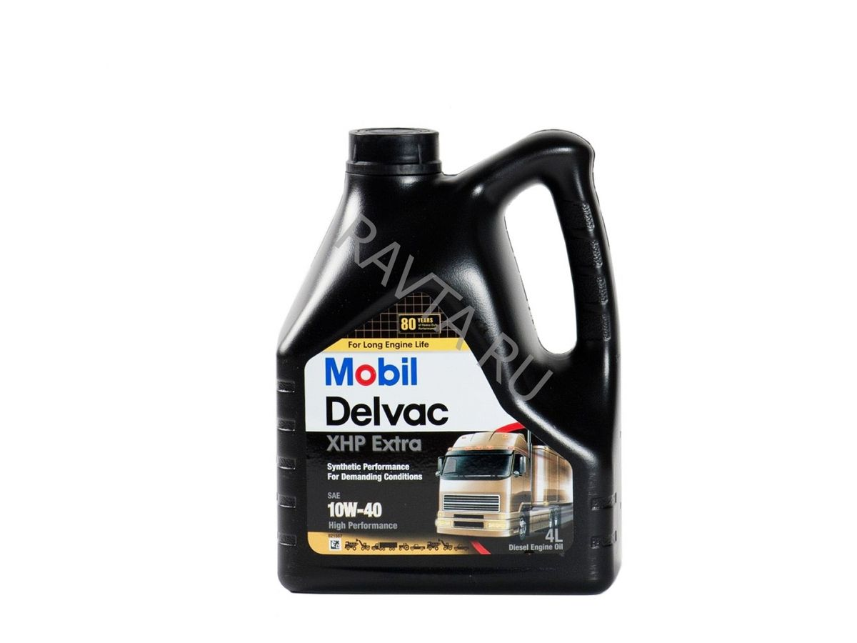 Масло Mobil Delvac XHP Extra 10W 40 (4л) от Ravta
