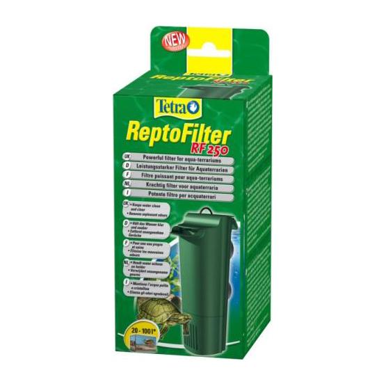 Фильтр для аква-террариумов Tetra ReptoFilter RF 250, 250 л/ч (до 40л)Помпы и фильтры для аквариумов<br><br><br>Артикул: 189867<br>Бренд: Tetra<br>Родина бренда: Германия