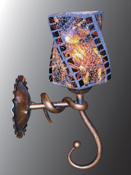 Светильник (Бра) Этника 3-5693-1-RC+BK E27 от Ravta