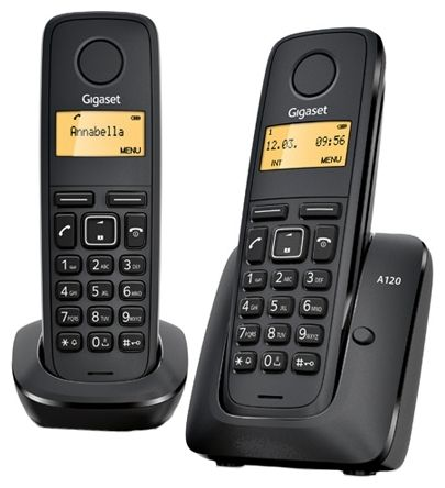 Телефон DECT Gigaset A120 DUO RUS от Ravta