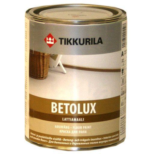 Краска для пола Тиккурила Бетолюкс базис А (9л) от Ravta
