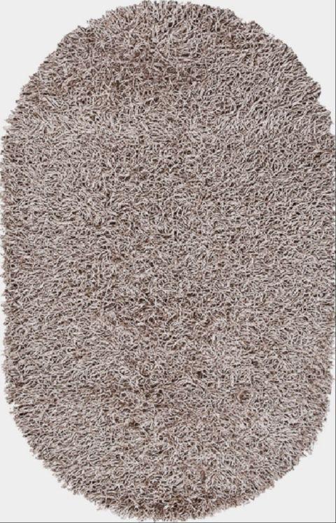 Ковер Шагги Фит светло-коричневый 800*1500мм овал от Ravta