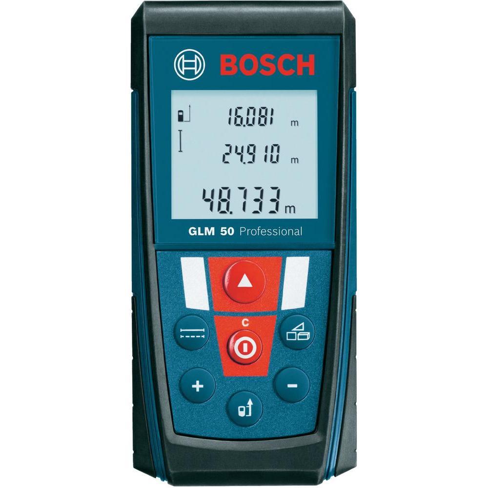 Дальномер лазерный BOSCH GLM 50 Prof (0,05-50м, точн.1,5мм/50м, 0,14 кг) от Ravta