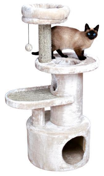 Домик TRIXIE для кошки Alessio 111 см, светло-серыйДомики, лежаки, когтеточки<br><br><br>Артикул: 44435<br>Бренд: TRIXIE<br>Вид: Домики<br>Страна-изготовитель: Китай