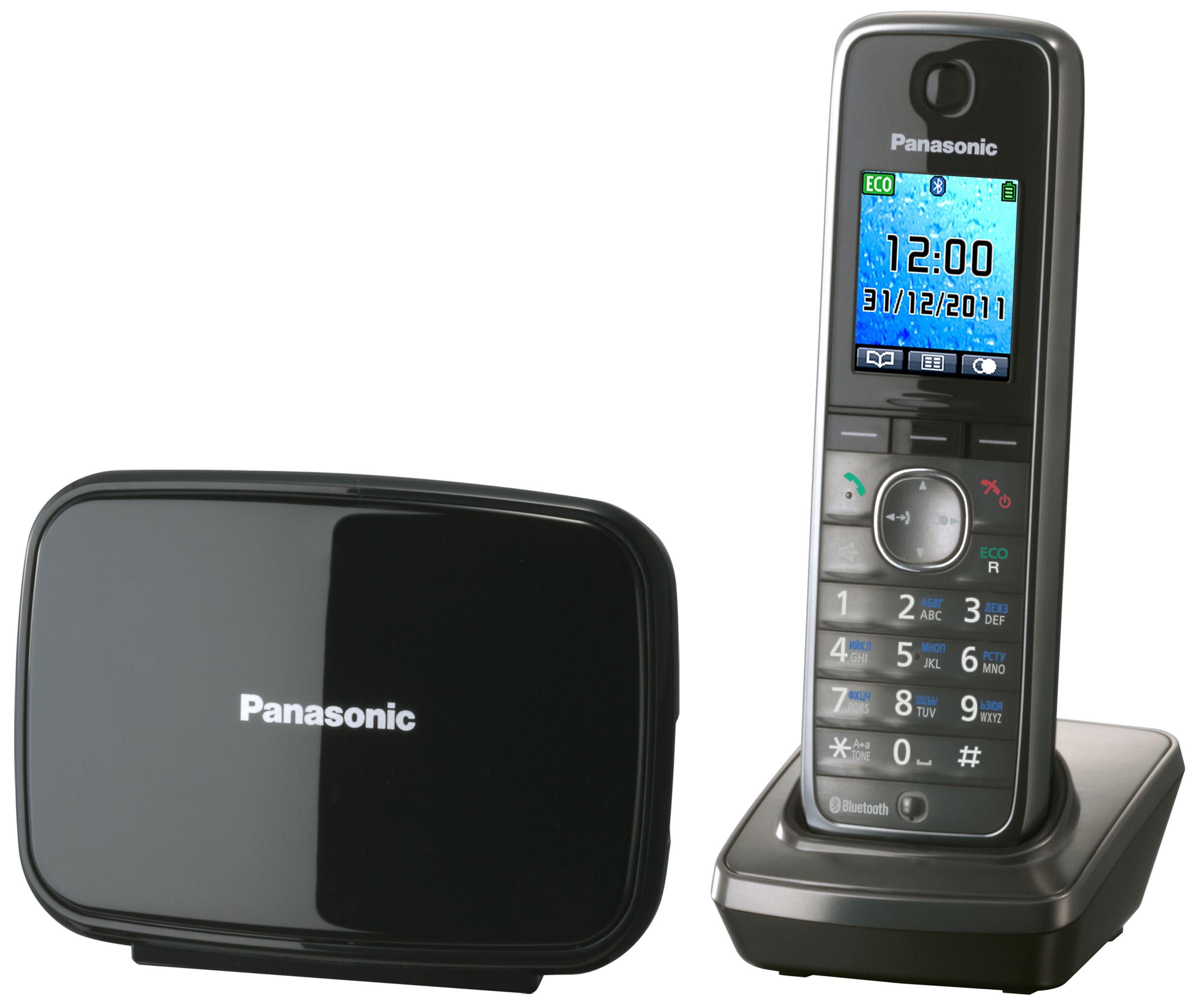 Телефон DECT PANASONIC KX-TG 8611RUM от Ravta