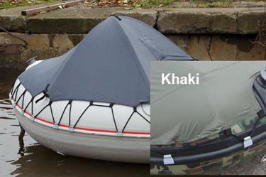 badger Носовой тент на лодку пвх (размер 110x90 см), Khaki тент4_grin