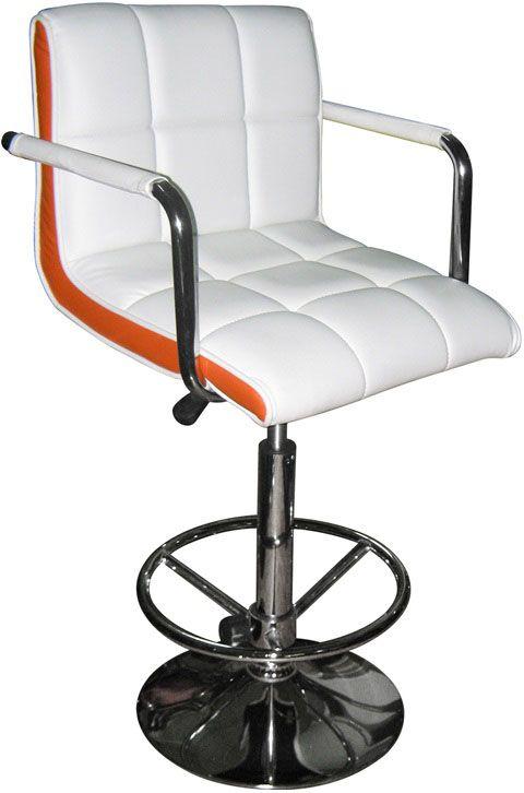 Барный стул (арт.ET 9101-7) белыйМебель для дома<br><br><br>Артикул: ET 9101-7<br>Бренд: Ravta<br>Страна-изготовитель: Китай<br>Цвет: белый<br>Вид мебели: Барный стул<br>Каркас мебели: металл