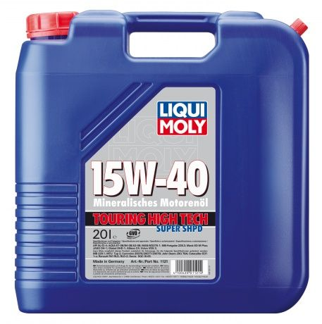 Масло Liqui Moly Touring High Tech Super SHPD 15W 40 (20л) от Ravta