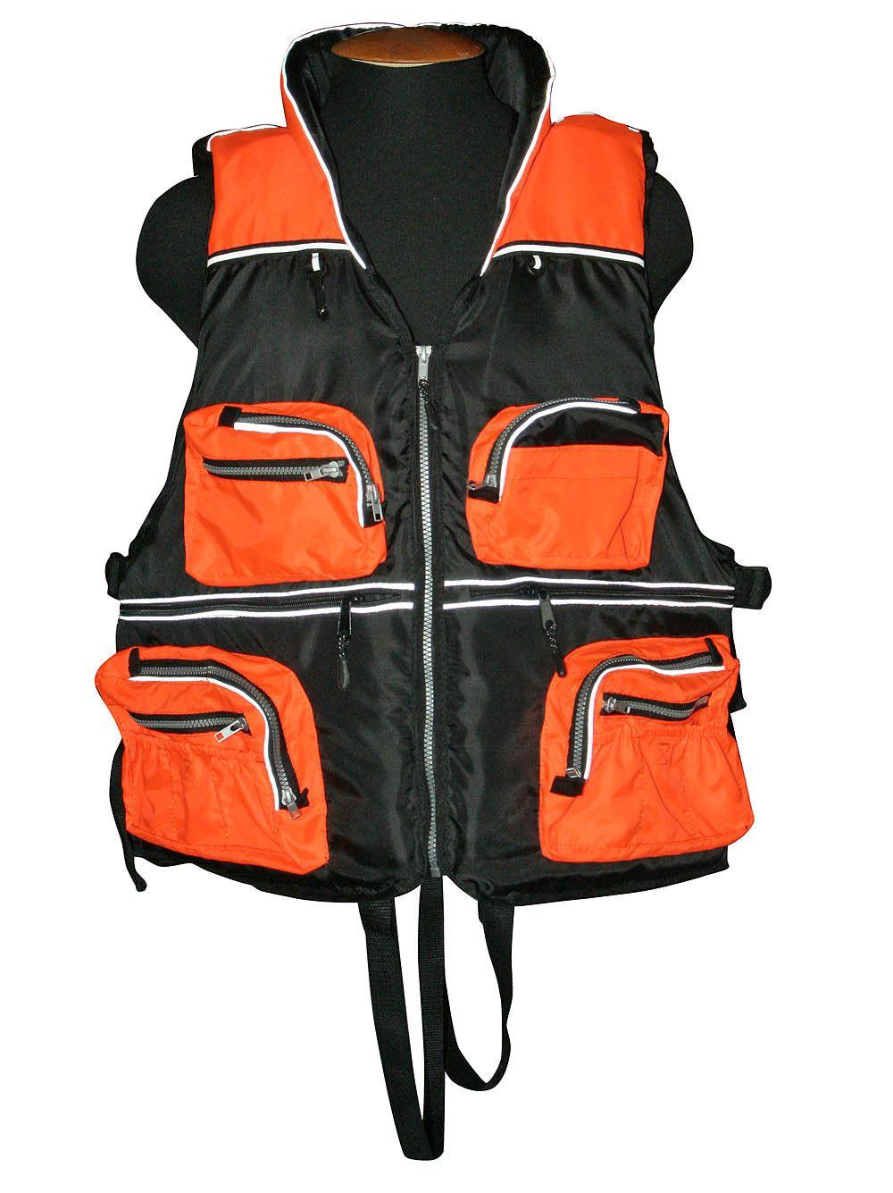 Жилет Спасательный Волна с подголовником XL/XXL 150кг (Оранж) от Ravta