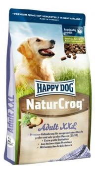 Happy dog Натур Крок XXL для собак крупных пород (большие гранулы) 15кгПовседневные корма<br><br><br>Артикул: 12063<br>Бренд: Happy dog<br>Вид: Сухие<br>Вес брутто (кг): 15<br>Для кого: Собаки