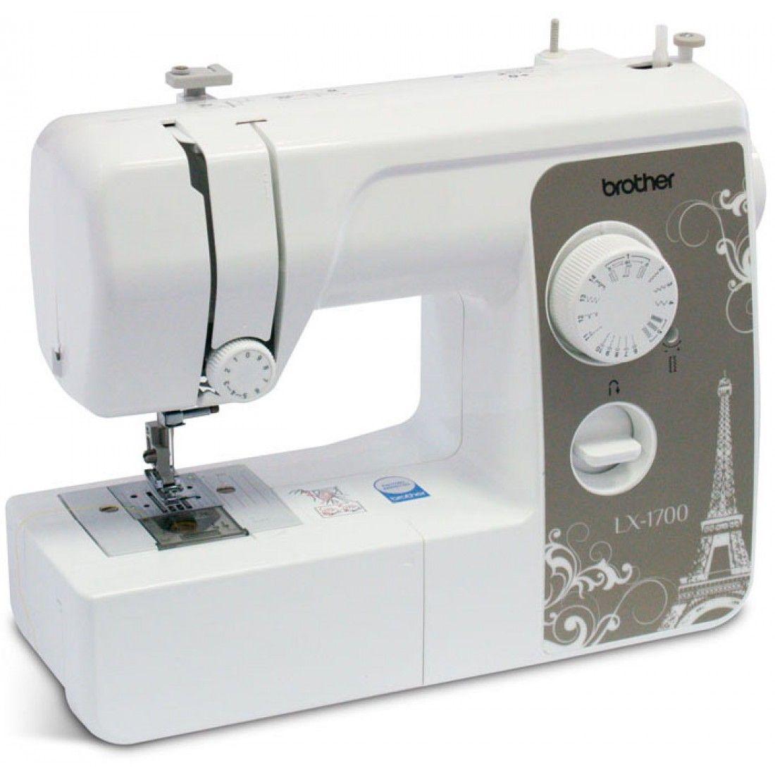 Швейная машина Brother LX-1700Швейные машины<br><br><br>Артикул: 735393<br>Бренд: Brother<br>Вид: швейная машина<br>Вес (кг): 7<br>Гарантия производителя: да<br>Количество швейных операций: 13<br>Максимальная высота подъема лапки (мм): 13<br>Рукавная платформа: да<br>Максимальная длина стежка (мм): 4<br>Освещение: да<br>Чехол: мягкий<br>Отсек для аксессуаров: да<br>Максимальная ширина стежка (мм): 5<br>Тип швейной машины: электромеханическая<br>Тип челнока: ротационный горизонтальный<br>Выполнение петли: полуавтомат<br>Кнопка реверс: да