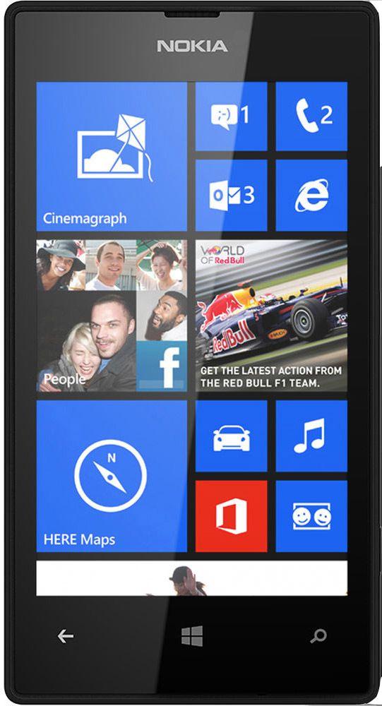 Смартфон Nokia Lumia 520 (черный): цена, описание, отзывы