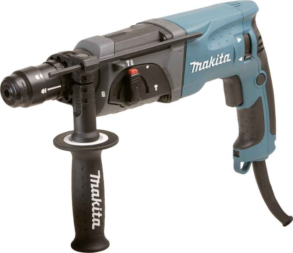 Перфоратор MAKITA HR 2470 FT, 780Вт 2.7Дж SDS+ 0-4500уд/мин 0-1100об/мин 24мм 2.8кг БЗП13мм кейс пласт. HR2470FT от Ravta