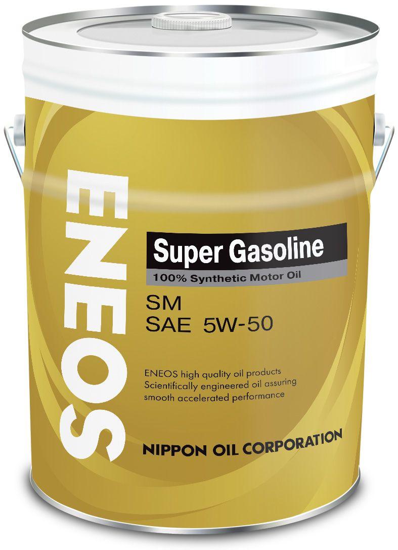 Масло ENEOS Super Gasoline 100% Synt. SM 5/50 (20л) от Ravta