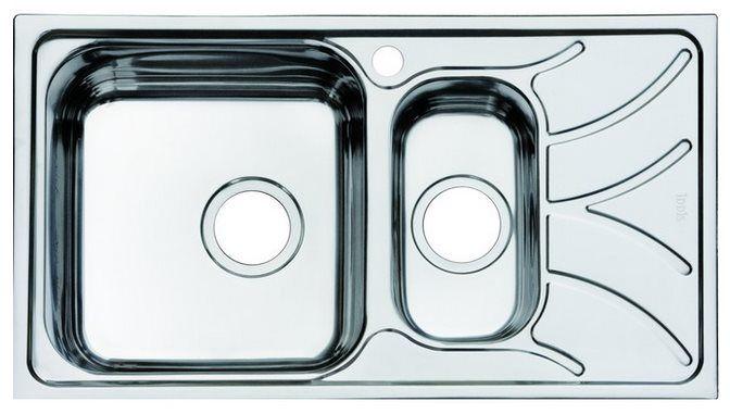 Мойка для кухни Iddis Arro (арт.ARR78PXi77) нержавеющая сталь от Ravta