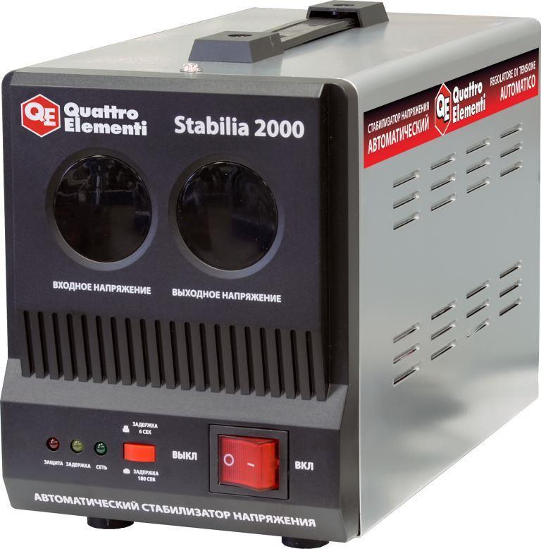 Стабилизатор напряжения QE Stabilia 2000 от Ravta
