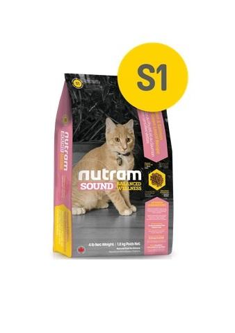 Корм Nutram S1 Kitten WB, для котят (белый пакет), 20кг от Ravta