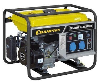 Электростанция бенз. CHAMPION GG3300, 2.4/2.8кВт 5.5л/с 15л 47кг GG3300Генераторы и электростанции<br><br><br>Артикул: GG3300<br>Бренд: Champion<br>Родина бренда: Япония