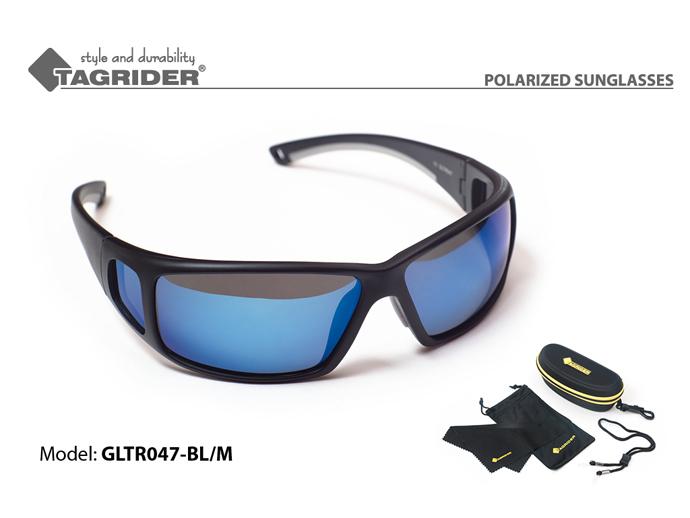 Очки поляриз.Tagrider в чехле GLTR 047 BL/M от Ravta
