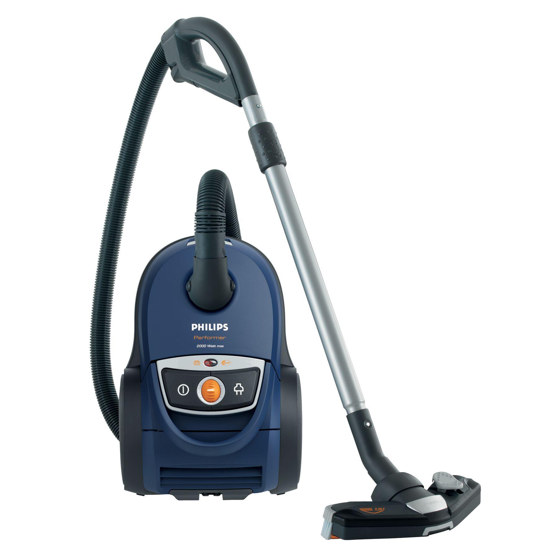 Пылесос Philips FC9150/02Пылесосы<br><br><br>Высота упаковки (мм): 300<br>Длина упаковки (мм): 390<br>Ширина упаковки (мм): 590<br>Артикул: 212757448<br>Бренд: Philips<br>Вес (кг): 6,3<br>Потребляемая мощность (Вт): 2000<br>Тип уборки: сухая<br>Фильтр тонкой очистки: да<br>Регулятор мощности: на корпусе<br>Источник питания: от сети<br>Тип пылесборника: мешок<br>Гарантия производителя: да<br>Мощность всасывания (Вт): 425<br>Длина сетевого шнура (м): 9<br>Уровень шума (дБ): 76<br>Вес упаковки (кг): 9,7<br>Цвет: синий<br>Родина бренда: Нидерладны<br>Срок гарантии (мес.): 24<br>Емкость пылесборника (л): 4<br>Управление мощностью всасывания: да<br>Расположение регулятора мощности: на корпусе<br>Автосматывание сетевого шнура: да<br>Индикатор заполнения пылесборника: есть<br>Трубка: телескопическая<br>Тип пылесоса: обычный<br>Место для хранения насадок: нет<br>Материал трубки: металл<br>Фильтрация воздуха: фильтр тонкой очистки<br>Вертикальное хранение трубки: есть<br>Насадки: универсальная, щелевая