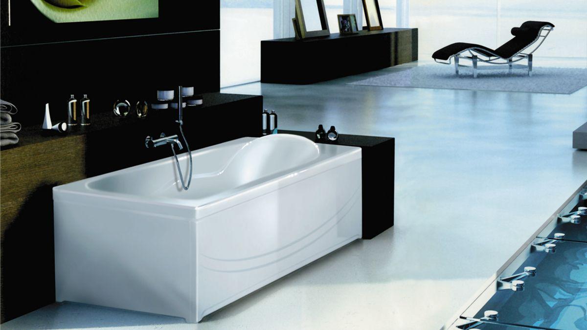 Ванна акриловая Eurolux Карфаген 170х75х50, объем 295 л от Ravta