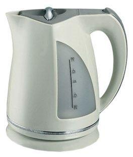 Чайник VES 1015, 1,7лЧайники<br><br><br>Бренд: VES<br>Материал: пластик<br>Потребляемая мощность (Вт): 2200<br>Отсек для сетевого шнура: есть<br>Подсветка: да<br>Блокировка включения без воды: есть<br>Нагревательный элемент: скрытый<br>Гарантия производителя: да<br>Общий объем (л): 1,7<br>Страна-изготовитель: Китай<br>Цвет: бежевый<br>Срок гарантии (мес.): 48<br>Указатель уровня воды: да<br>Индикация включения : есть<br>Автоотключение при закипании: есть<br>Вращение на 360 градусов: есть