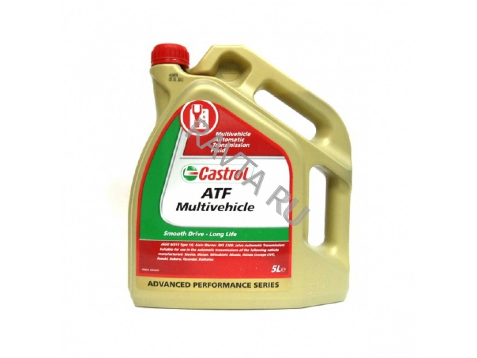 castrol Масло Castrol ATF Multivehicle (5л) 154F32