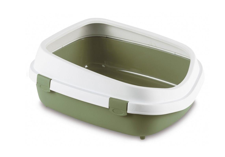 stefanplast Туалет Stefanplast Queen с рамкой, зеленый, 55*71*24,5см 21415.зел
