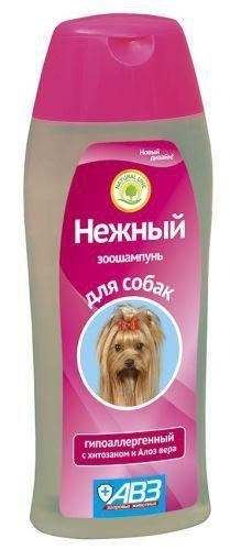 агроветзащита Шампунь АВЗ Нежный для собак гипоаллергенный 270мл 13681