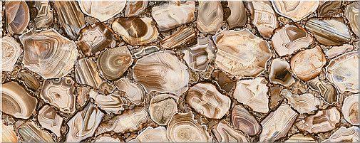 Керамическая плитка настенная Azori Agat Beige бежевый 505*201 (шт.) от Ravta