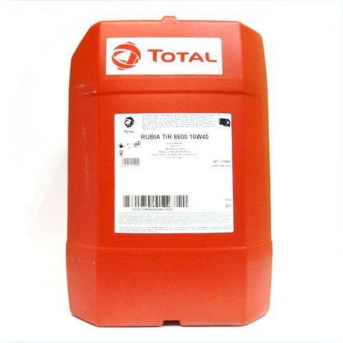Масло Total Rubia Tir 8600 10W-40 (20л) от Ravta