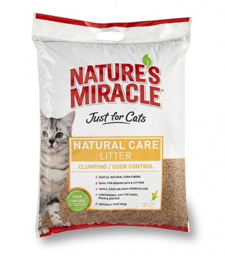 8 в 1 Кукурузный комкующийся наполнитель для кошачьего туалета 8in1 NM Odor Control Clumping Cat Litter 8 kg 5318 5053183