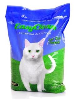 Easy Clean (Канада) Комкующийся наполнитель для длинношерстных кошек (Low track) 18кг от Ravta