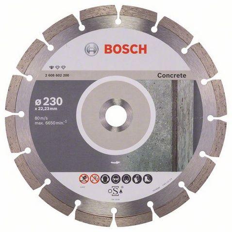Диск алмазный сегментный BOSCH Pf Concrete 230 х 22 мм (1 шт.) по бетону от Ravta