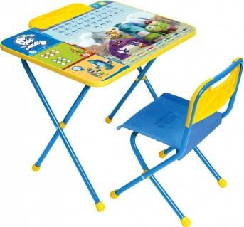 Набор мебели Ника «Disney1» Университет Монстров Д1УСтолы и стульчики, кресла<br><br><br>Артикул: 264 260<br>Бренд: Ника