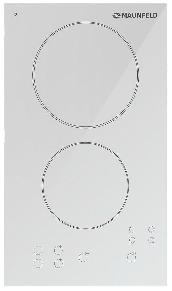 Электрическая варочная панель Maunfeld MPE 29 СО (белое стекло)Встраиваемые электрические варочные панели<br><br><br>Артикул: УТ000001582<br>Бренд: Maunfeld<br>Гарантия производителя: да<br>Вес упаковки (кг): 5
