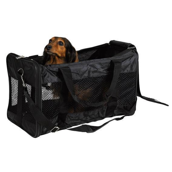Транспортная сумка TRIXIE 55*30*30см., нейлон, чернаяКлетки, вольеры, переноски<br><br><br>Артикул: 28851<br>Бренд: TRIXIE<br>Вид: Переноски<br>Страна-изготовитель: Китай