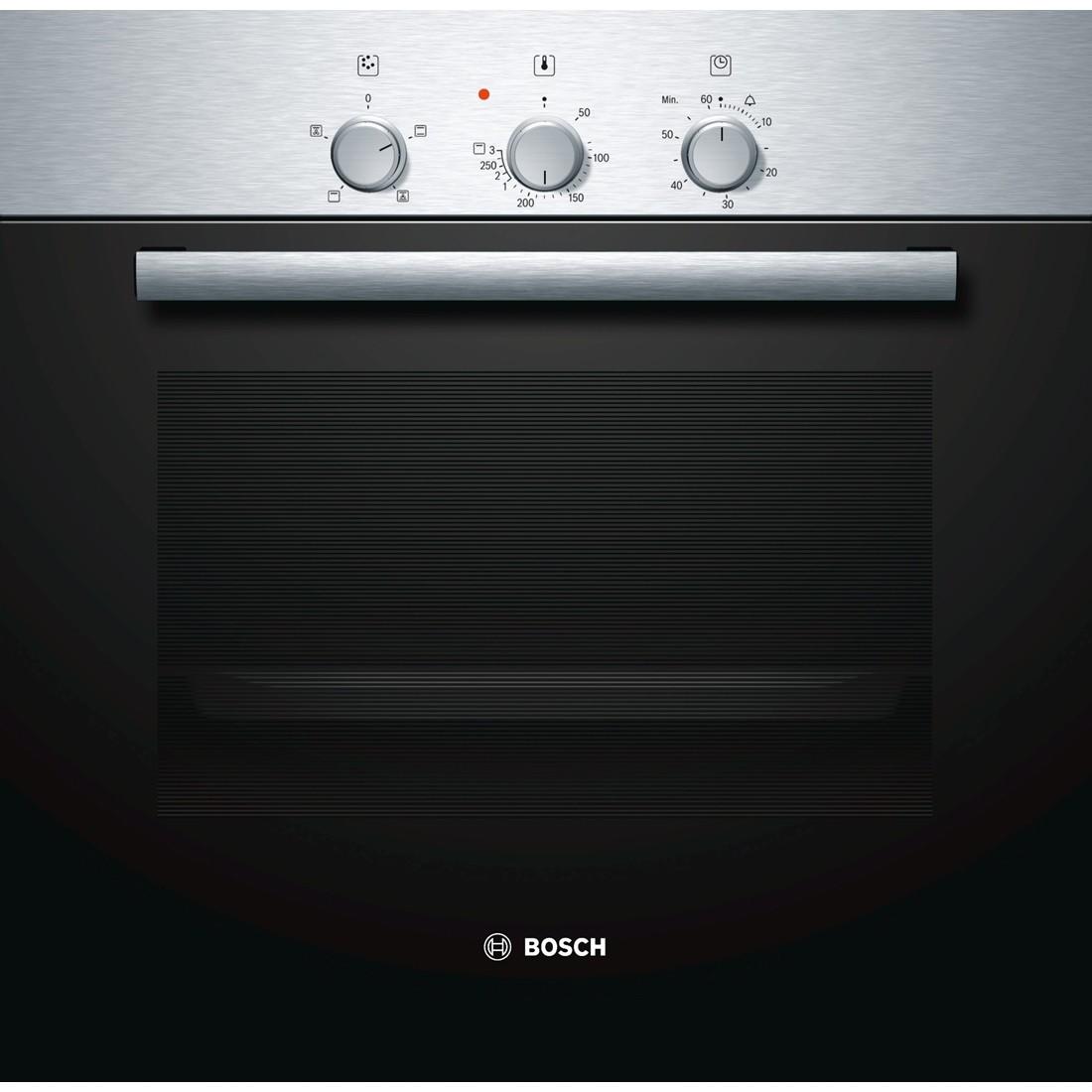 Электрический духовой шкаф Bosch HBN 211 E4Встраиваемые электрические духовые шкафы<br><br><br>Артикул: HBN211E4<br>Бренд: Bosch<br>Количество режимов работы: 4<br>Таймер: да<br>Подсветка: да<br>Гриль: да<br>Конвекция: да<br>Защитное отключение: да<br>Установка: независимая<br>Гарантия производителя: да<br>Часы: нет<br>Дисплей: нет<br>Цвет: нержавеющая сталь<br>Глубина(см): 56,7<br>Класс энергопотребления: A<br>Ширина (см): 59,5<br>Высота (см): 59,5<br>Переключатели: поворотные<br>Объем духовки(л): 67<br>Число режимов нагрева: 4<br>Тип духовки: независимая<br>Дверца духовки: откидная<br>Телескопические направляющие: да<br>Тип гриля: электрический<br>Вертел: нет<br>Очистка духовки: каталитическая<br>Вентилятор охлаждения дверцы: есть<br>Количество стекол дверцы духовки: два<br>Размеры Ш*В*Г (мм): 595x595x567<br>Размеры ниши для встраивания Ш*В*Г (мм): 560x600x550<br>Ширина встраивания: 60 см<br>Высота встраивания: 60 см