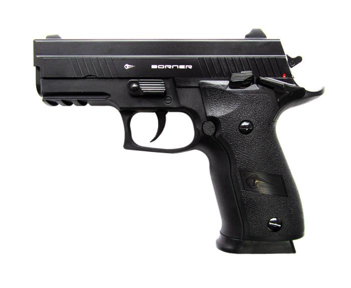 Пистолет пневм. Borner Z116, кал. 4,5 мм от Ravta