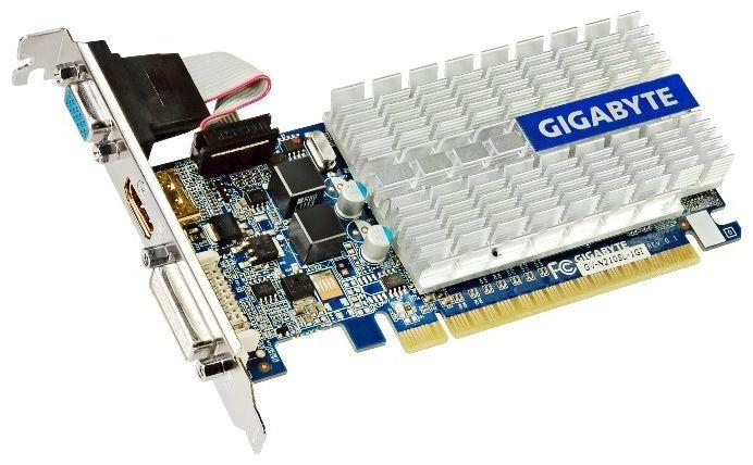 Видеокарта GIGABYTE GeForce 210 64B GV-N210SL-1GI 1Гб PCIE16 GDDR3 от Ravta