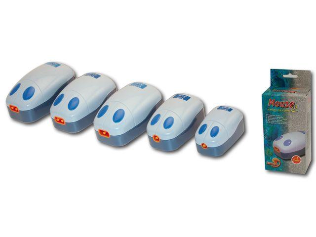 """Компрессор """"Wave Mouse 5"""", 13*7*5,5 см, 2 выхода, 4,0 л/мин, 4 Вт от Ravta"""