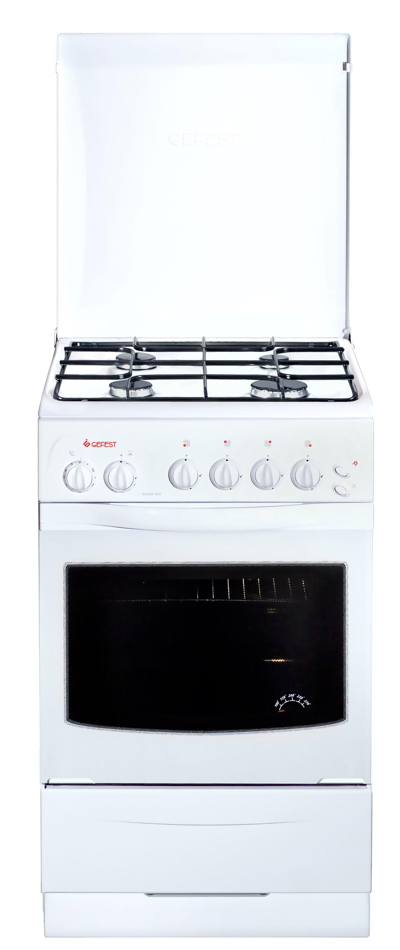 Газовая плита Gefest 3200-05Газовые плиты<br><br><br>Бренд: GEFEST<br>Гарантия производителя: да<br>Вес упаковки (кг): 45,5