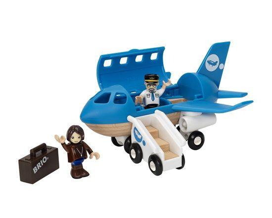 Самолетик с трапом BRIO (арт. 33306)Железная дорога<br><br><br>Артикул: 33306<br>Бренд: Brio<br>Пол: Для девочек<br>Категории: Железная дорога<br>Возраст ребенка: от 3 до 7 лет