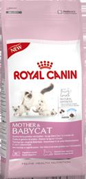 Корм Royal Canin Mother&amp;Babycat для котят от 1 до 4 мес. и беременных кошек 2кгПовседневные корма<br><br><br>Высота упаковки (мм): 0,38<br>Длина упаковки (мм): 0,19<br>Ширина упаковки (мм): 0,08<br>Вес брутто (кг): 2<br>Артикул: 10671<br>Бренд: Royal Canin<br>Вид: Сухие<br>Страна-изготовитель: Россия<br>Вес упаковки (кг): 2<br>Размер/порода: Все<br>Для кого: Кошки<br>Особая серия: Для беременных и кормящих