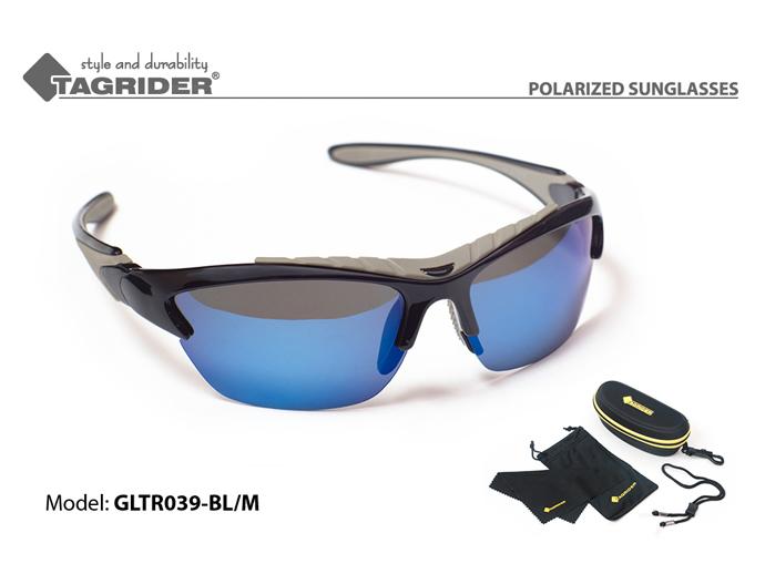Очки поляриз.Tagrider в чехле GLTR 039 BL/M от Ravta