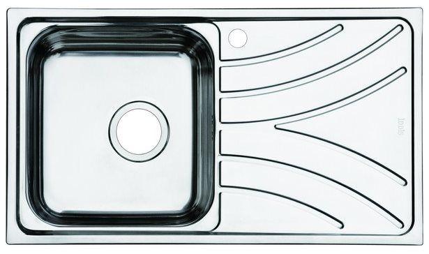 Мойка для кухни Iddis Arro (арт.ARR78SLi77) нержавеющая сталь от Ravta