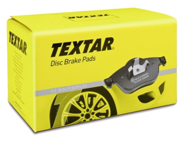Тормозные колодки Textar задние, комплект Toyota Avensis, Corolla [2183301] от Ravta