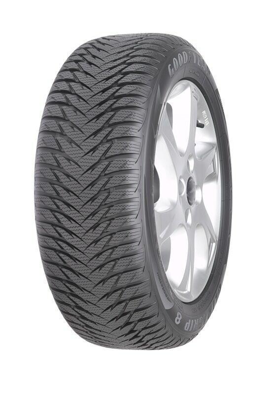 175/65 R15 GoodYear Ultra Grip 8 XL 88TЛегковые шины<br><br><br>Сезонность шины: зимняя<br>Конструкция шины: радиальная<br>Индекс максимальной скорости: Т (190 км/ч)<br>Бренд: GoodYear<br>Высота профиля шины: 65<br>Ширина профиля шины: 175<br>Диаметр: 15<br>Индекс нагрузки: 88<br>Тип автомобиля: легковой автомобиль<br>Страна-изготовитель: США<br>Родина бренда: США