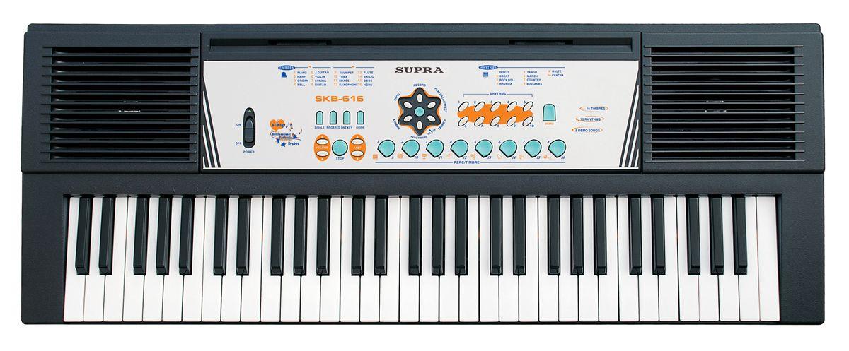 Синтезатор Supra SKB-616Синтезаторы<br><br><br>Бренд: Supra