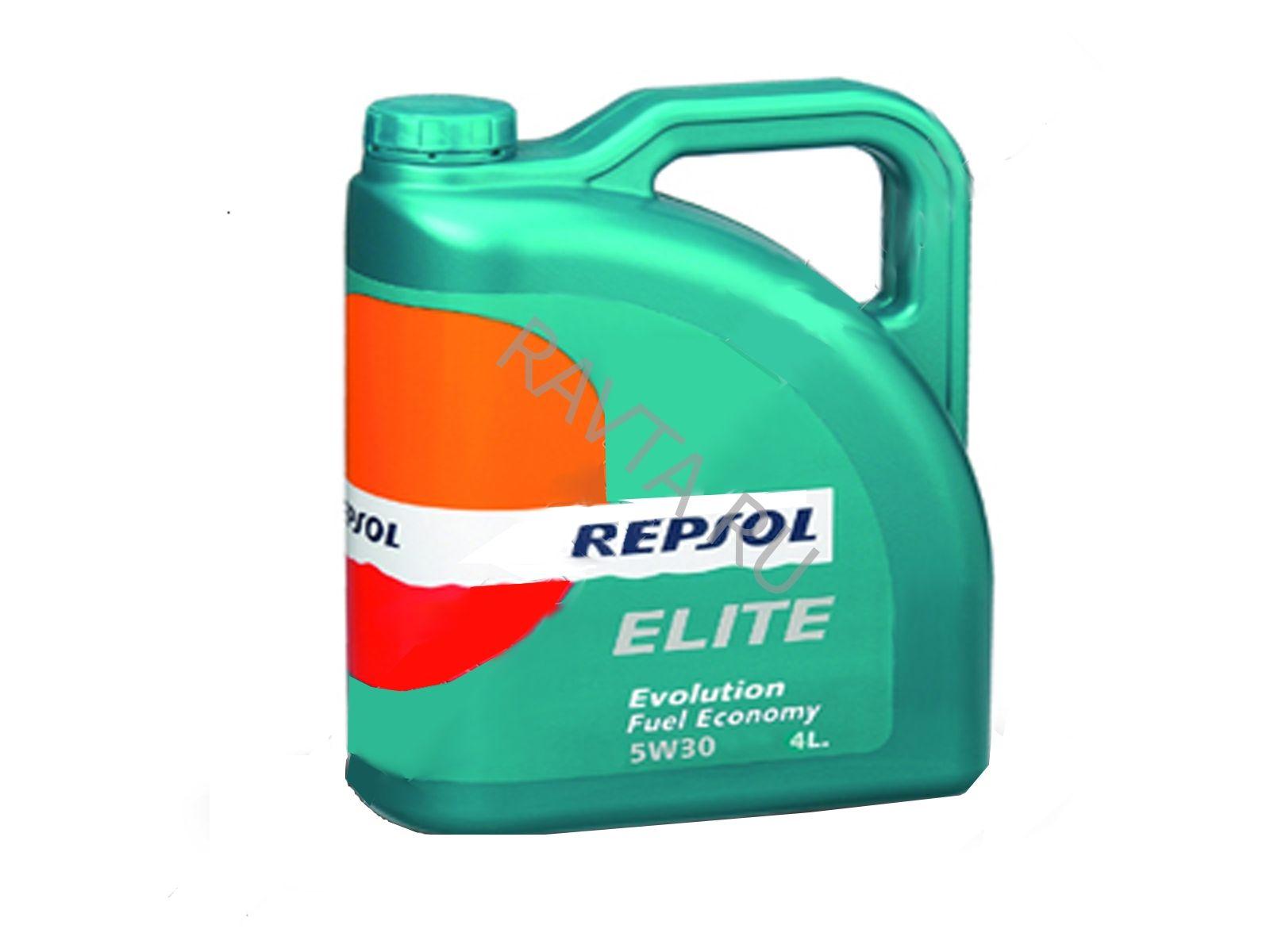 Масло Repsol Elite Evolution Fuel Economy 5W-30 (4л) от Ravta